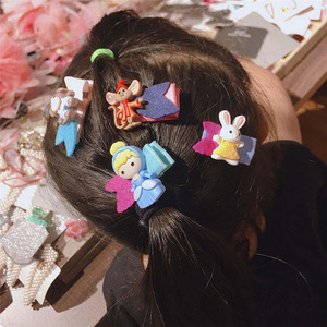 Hair Accessories For Girls Set Kids Baby Hair Clip Bow Cute Cartoon Delicate Hairclip Fashion Lovely Hairpin Sets Barrettes
