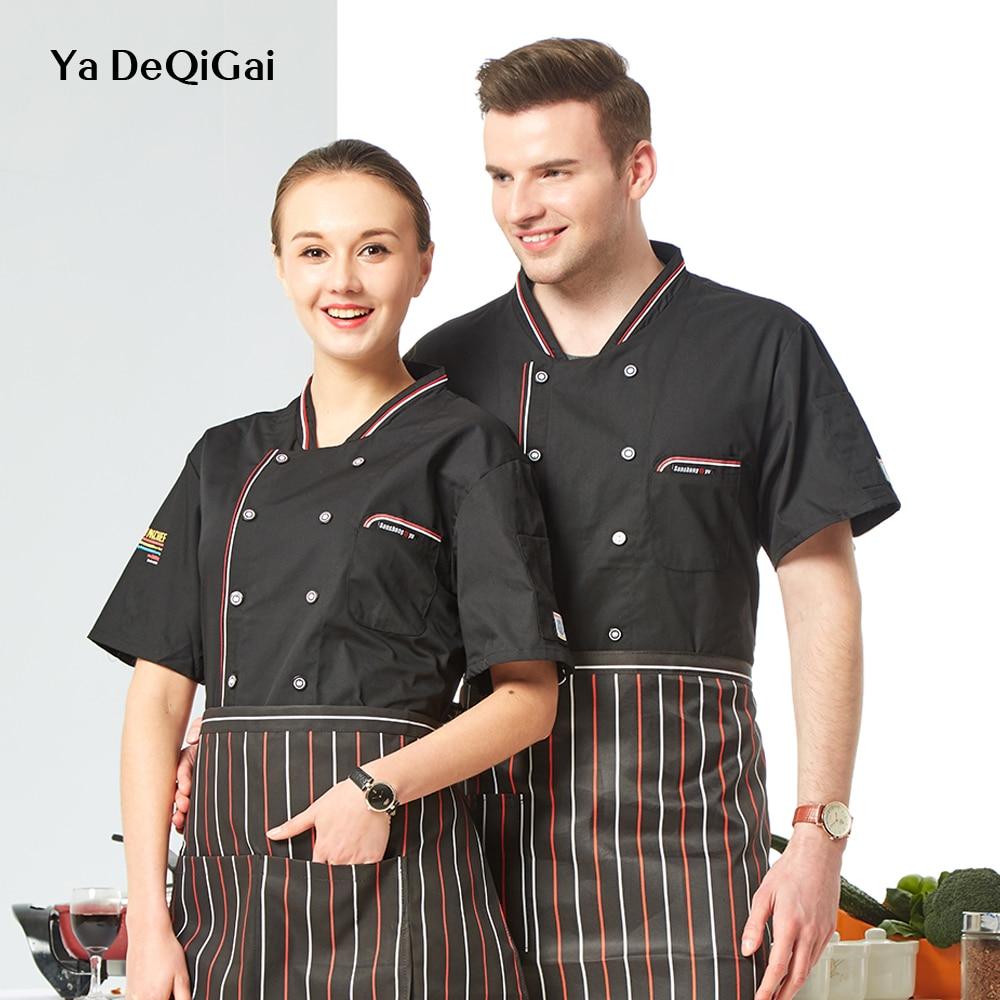Baked Goods Housewife Chef Shirts Unisex Dessert Workbench Sushi Chef Restaurant Uniform Coffee Shop Men's Wear Hotel Uniform