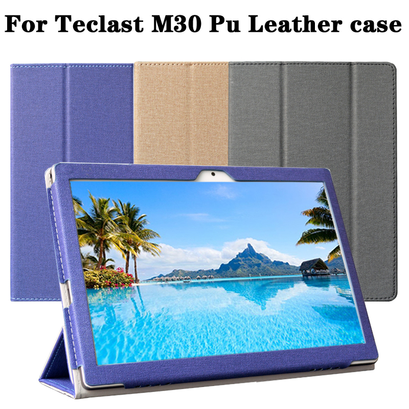 Newest ! Original Teclast M30 Case Original Leather Case Cover For M30 10.1 Inch Tablet PC