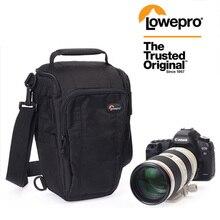 Lowepro Toploader Zoom 55 AW 50 AW SLR Камера треугольная Наплечная Сумка дождевик портативный поясной чехол кобура для Canon Nikon