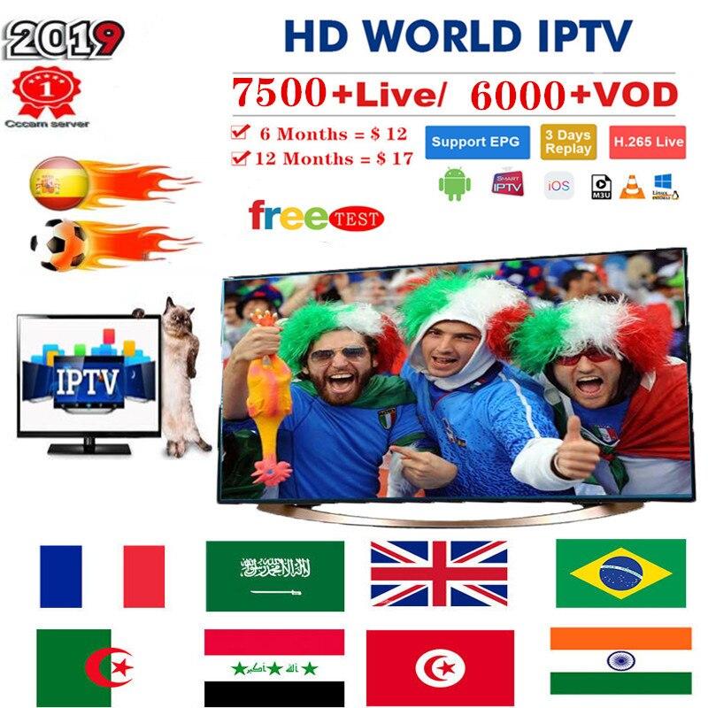 Premium IP TV Subscription IPTV Spain M3u 1 Year With 7500+ Live TV & 6000+ Spanish VOD Movies HD World Europe List IPTV Server3