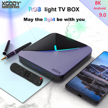 XGODY Support PLEX RGB Light smart tv box Amlogic amlogic S9