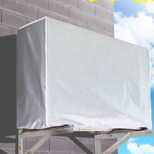 Wassen Anti-stof Anti-Sneeuw Cleaning Cover Waterdichte Outdoor Airconditioning Cover Polyester Airconditioner Schoonmaken Cover(China)