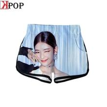 ITZY тренажерный зал летние готические шорты милые повседневные модные летние Kpop женские сексуальные Harajuku узкие шорты байкерские шорты