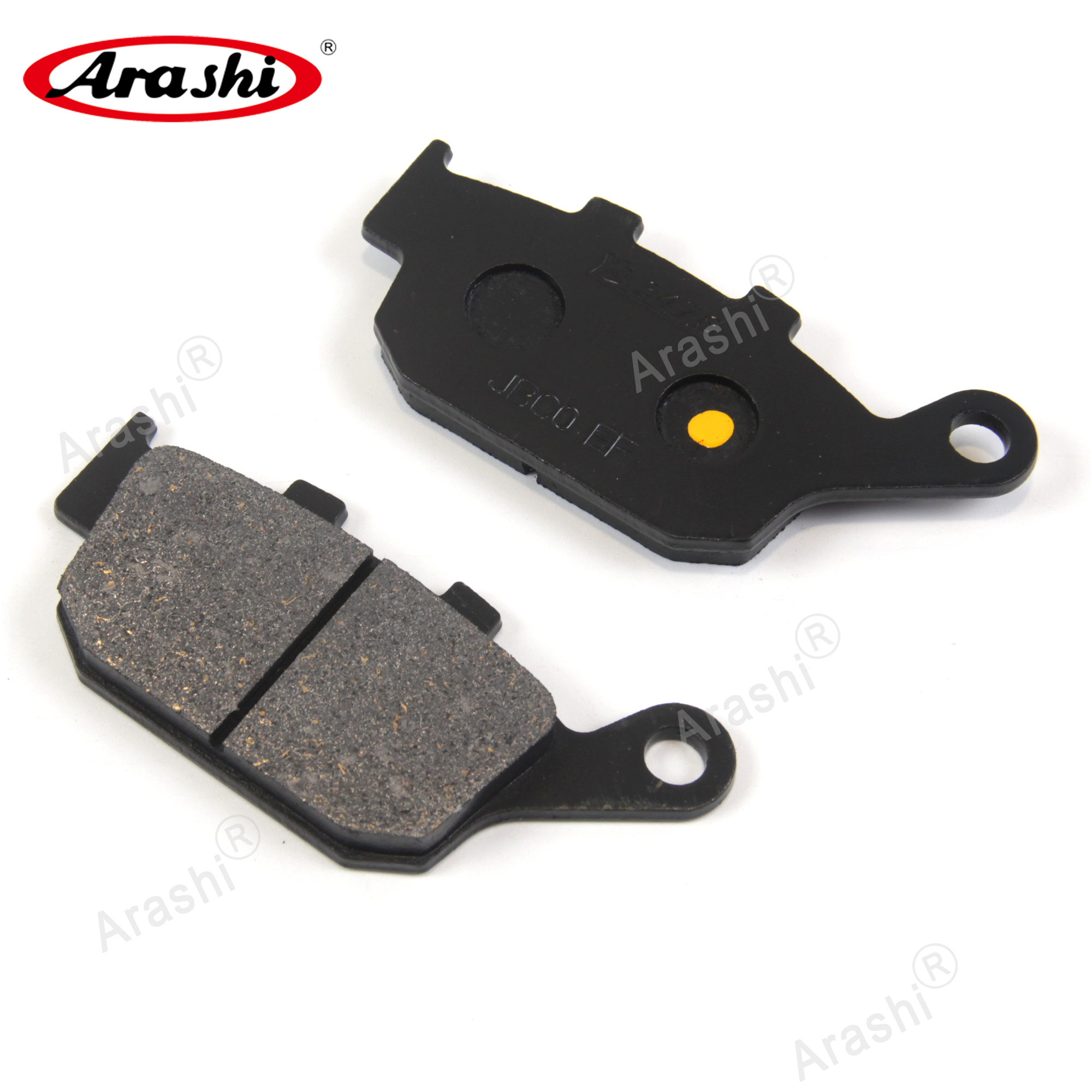 Arashi Rear Brake Pads For <font><b>HONDA</b></font> <font><b>XL</b></font> <font><b>650</b></font> V <font><b>Transalp</b></font> 2000 - 2007 Motorcycle Discs Rotors Pad XL650V 2001 2002 2003 2004 2005 2006 image