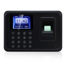 Biometric Fingerprint Time Attendance Machine Time Clock Recorder (AU Plug)