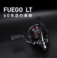 Fishing reel Original Daiwa Fuego LT 1000 6000 series 5 12Kg drag 6BB bearings spinning reel Carbon Light Material Housing LT
