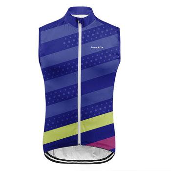 2020 gorące odblaskowe kamizelki rowerowe bez rękawów szybkoschnące kurtki rowerowe MTB szosowe koszulki rowerowe najlepsze ubrania płaszcz chroniący od wiatru tanie i dobre opinie runchita Poliester spandex Anty-pilling Przeciwzmarszczkowy Oddychająca Szybkie suche Wodoodporna Wiatroszczelna V280 Jazda na rowerze
