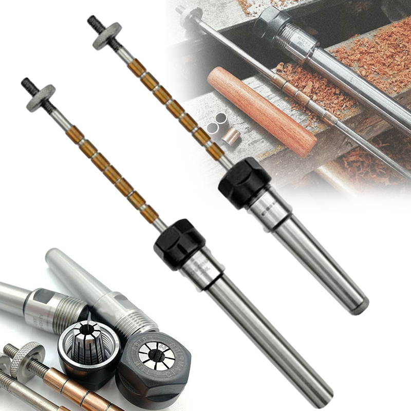 1 Set Pen Mandrel Collet Mandrel Set Pen Mandrel Pen Kit Turning Lathe Woodworking DIY Woodworking Machinery Parts Tools