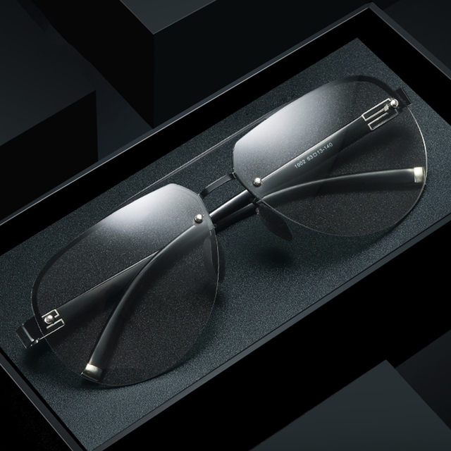 VEITHDIA Sunglasses Photochromic Sunglasses Men Day Night Vision Glasses for Driving Polarized Sunglasses UV400 Sun Glasses 1902