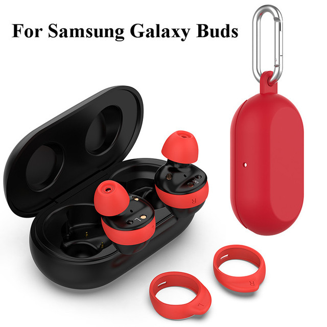 For Samsung Galaxy Buds 2019 Protective Cover Silicone Case Earphones Pouch Wireless Earbuds Skin Cover Earplug Protective Case