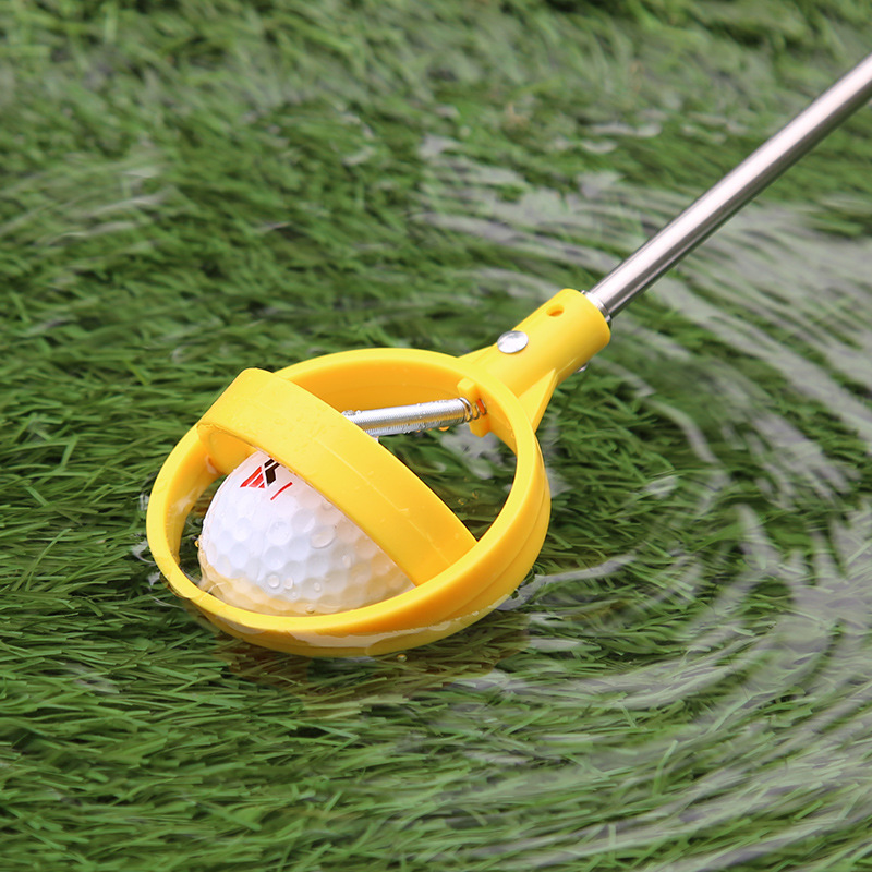 Golf Ball Catcher Golf Clubs Fishing For Clubs Golf Course 2 Meters Free Telescopic Golf Ball Pick Up Tool Free Shipping New