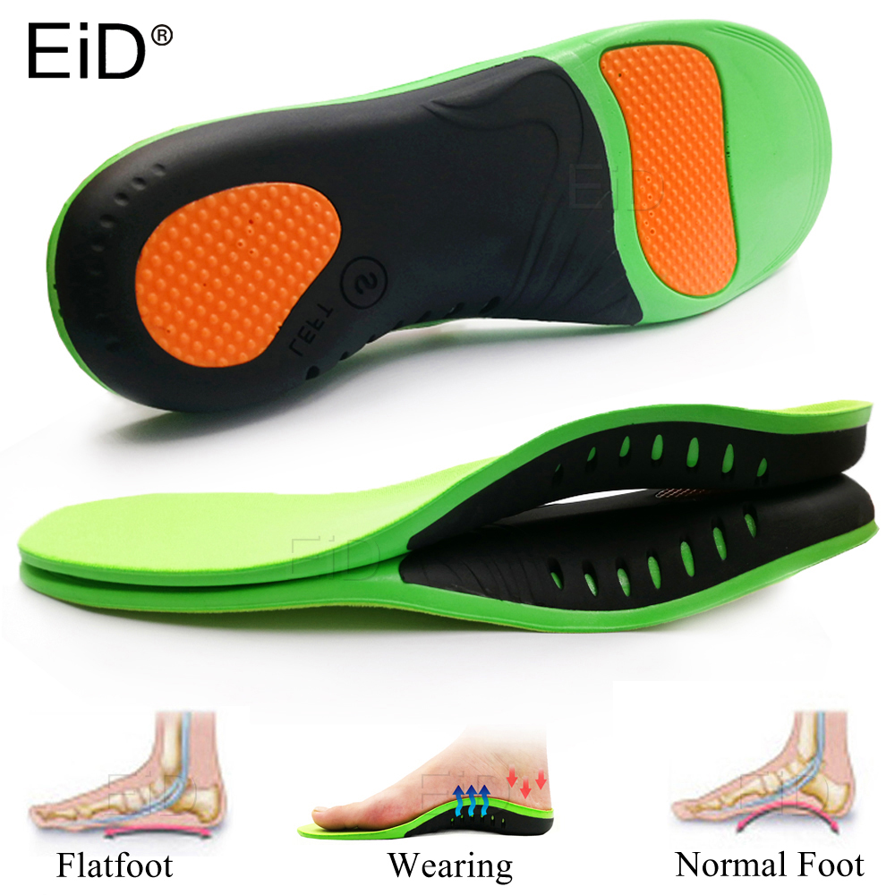 High Quality EVA Orthotic Insole For Flat Feet Arch Support Orthopedic Shoes Sole Insoles For Men And Women Shoe Pads Man Women