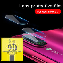9D Camera Screen Tempered Lens For Xiaomi Redmi 7 6A 7A Note 6 Pro Back Camera Protective Lens For Xiaomi Redmi Note 7 7S Glass(China)