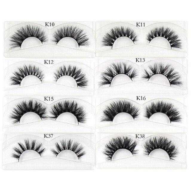 AMAOLASH Eyelashes Mink Eyelashes Thick Natural Long False Eyelashes 3D Mink Lashes High Volume Soft Dramatic Eye Lashes Makeup 4