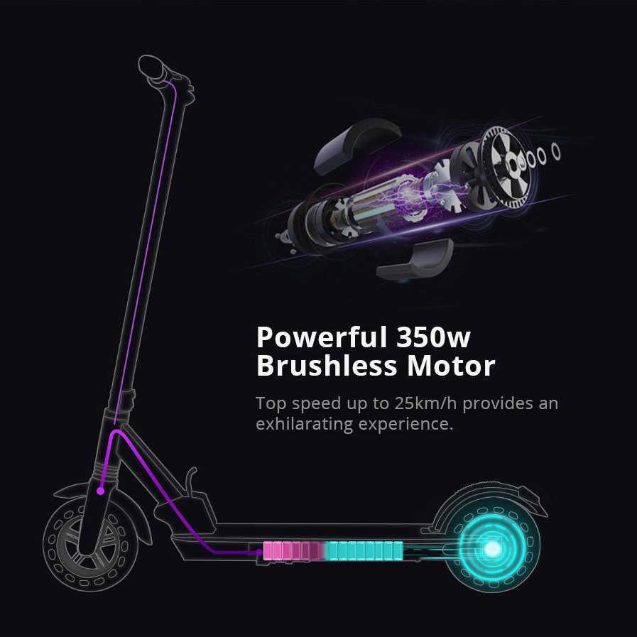 [Nieuwe Versie] Kugoo Kirin S1 Opvouwbare Elektrische Volwassen Scooter 350W App Controle 8 Inch Honingraat Band E scooter Voor Xiaomi M365
