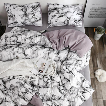 Bedding with Marble Texture 2
