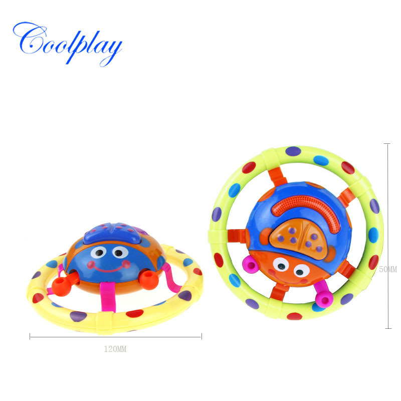 Toys For Children And Infants Educational Music Grasping Toy Small Beetle Fun Acoustic Generator