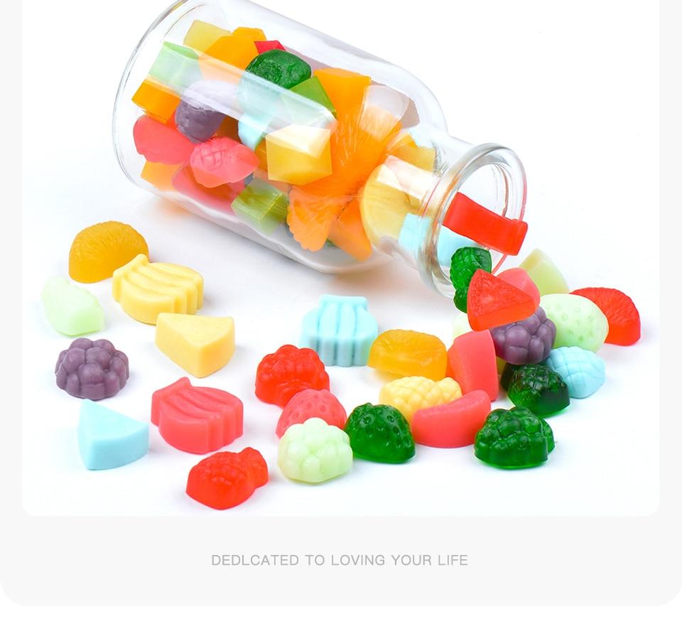1SILIKOLOVE Miniature Candy Mold Fruit Silicone Candy Mold Gummy Candy Mold Sugarcraft Tools_04