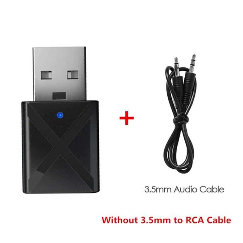 Bullker USB Bluetooth Music Stereo Receiver Wireless Audio Transmitter Adapter Switcher USB Bluetooth Audio Music Receiver