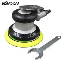 KKMOON – ponceuse pneumatique professionnelle, polisseuse à Air, 5 pouces, ponceuse orbitale à Air, outil de ponçage