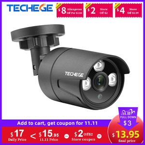 Image 1 - Techege 1080P AHD Camera Analog CCTV 2400 TVL Security Surveillance High Definition Outdoor Waterproof  Infrared Night Vision