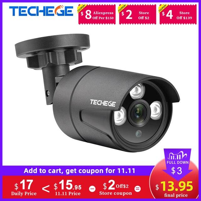 Techege 1080P Ahd Camera Analoge Cctv 2400 Tvl Security Surveillance High Definition Outdoor Waterdichte Infrarood Nachtzicht