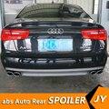 Для Audi A6 S6 обвес спойлер 2012-2015 для Audi A6 YDT ABS задний спойлер передний бампер диффузор защитные бамперы
