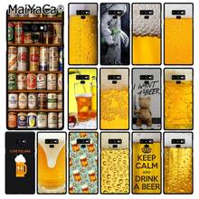 MaiYaCa Welt Biere Alkohol Sommer Blase Telefon Fall Für Samsung Galaxy A50 A70 A20 A30 Note9 8 Note7 Note10 Pro(China)