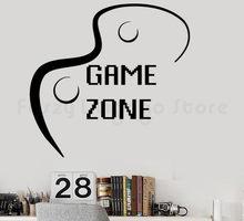 Gry w gry w gry Joystick wideo gry pokłon wybór wystrój czysty kolor ściany naklejka akcesoria do H678