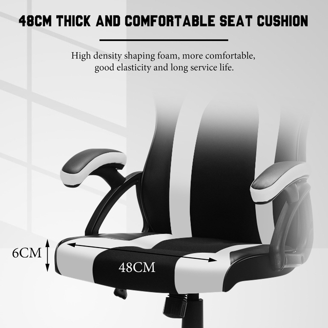 Gaming Office Chairs Executive Computer Chair Desk Chair Comfortable Seating Adjustable Swivel Racing Armchair Office Furniture 5