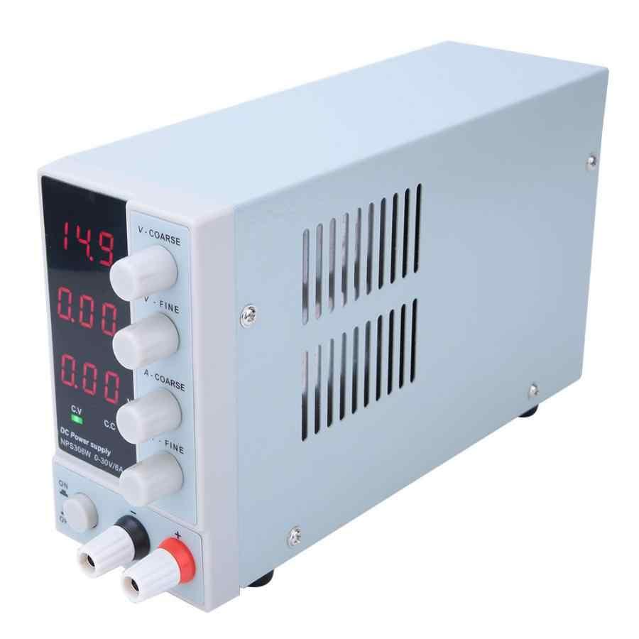 LED Digital Switching DC Power Supply Voltage Regulators Lab Repair Tool Adjustable NPS-306W 110/220V Power Source