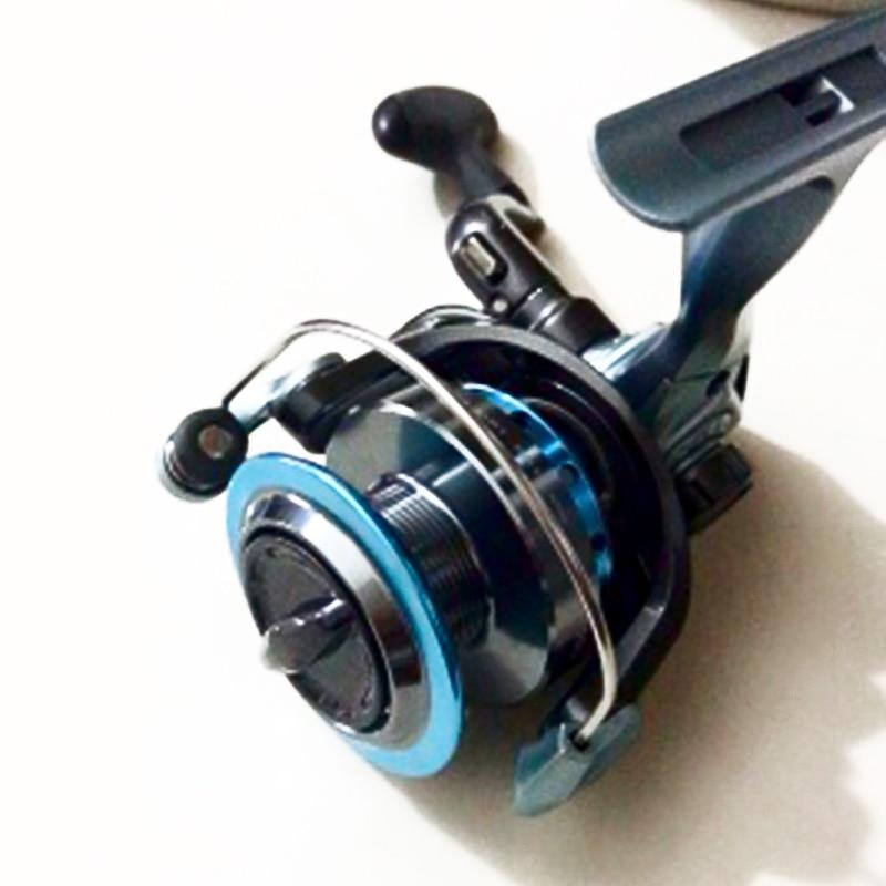 Spinning Fishing Reel 1000 2000 3000 4000 5000 5.0:1 Gear Ratio Saltwater Lightweight Metal Coil Spool Ice Jigging Fishing Reels