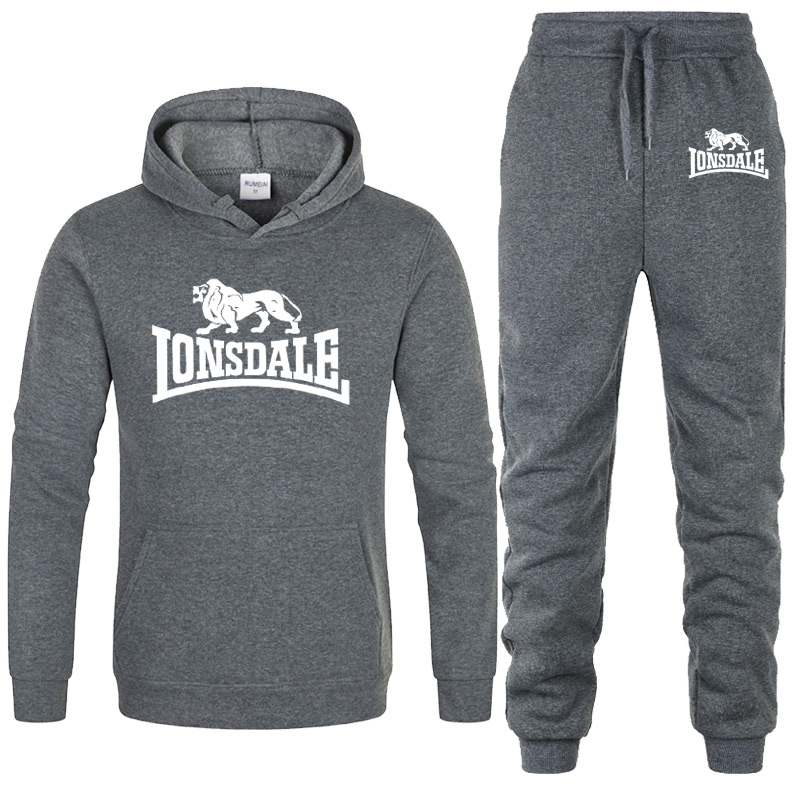 Pullover Sets Men Tracksuits 2020 Casual Hoodies Pants Mens Sportswear Pant Hoody Sweatshirt Male Suits Jogging Sweatpant 2 Pcs