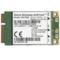 Mc7455 lte 4g cartão mini pci-e FDD-LTE TDD-LTE 4g módulo cat6 para portátil