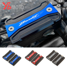 1 çift sıvı haznesi kapağı için Fit SUZUKI BANDIT 1250 1250S 1250F GSF 2007 2020 motosiklet ön fren debriyaj silindir yağ kapağı