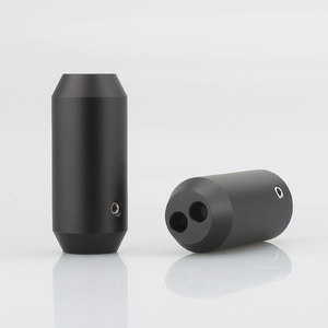 Image 2 - 4pcs HIFI אודיו מכנסיים Y ספליטר RCA כבל רמקול כבל חוט מכנסיים alluminium 12mm כדי 2*5mm אתחול