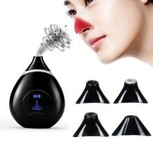 Elektryczny odkurzacz porów twarzy trądzik usuwająca zaskórniki zaskórników Dot środek usuwający pryszcze przyrząd do usuwania zaskórników narzędzie do czyszczenia twarzy