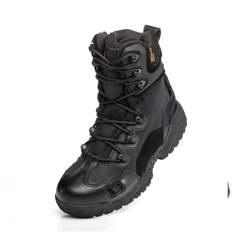 Image 4 - Men Trekking Outdoor Shoes Mountain Climbing Hunting Sneakers Mesns Military Tactical Combat Desert Boots Man Hiking Shoe-in Hiking Shoes from Sports & Entertainment