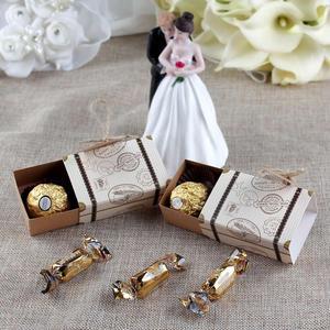 Image 2 - Ourwarm mala de doces, malas com tema clássico para viagem, caixa de presente para aniversário e casamento, caixas de lembrancinhas, 10/peças