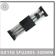 Customized GX150 SFU2005-300mm Linear Guide Rail Linear Actuator System Module no Motor+Coupling for 80ST 90ST Servo Motor