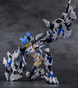 Image 4 - CMT Instock Dragon Momoko E Model HERACROSS And White Tiger A.t.k Girl 1/12 Scale Model Anime Mobile Suit Toys Figure
