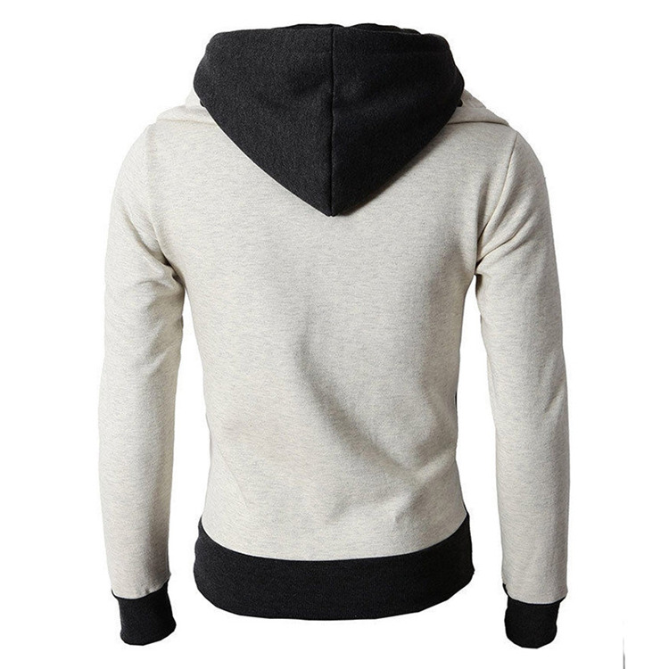 H8659d36fe28843b4a9b1f795da3b50973 - NaranjaSabor New Men's Hoodie Autumn Men Fleece Hooded Sweatshirts Fashion Stitching Color Male Casual Brand Clothing N625