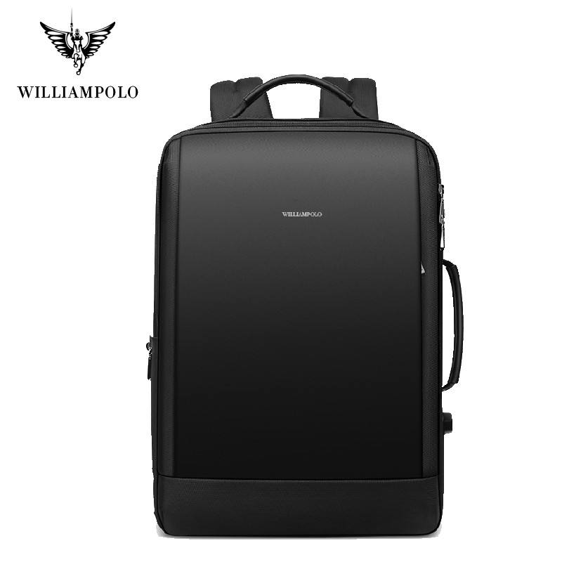 Williampolo Men Backpack Weekend Travel Backpack Men Water Repellent Laptop Backpack Computer Back Pack Male Bagpack PL187146