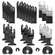 27пк многофункциональный Би-металла прецизионной пилы осциллирующей мультитул реноватор мощность для резки с несколькими хозяевами инструменты