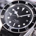 41 мм автоматические механические наручные часы стерильный Циферблат Водонепроницаемые Miyota часы мужские светящийся календарь leather316L SS сапф...