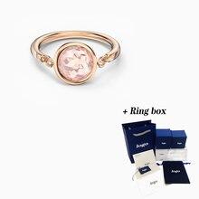 2020 Модное Новое таллийское Кольцо swa из розового золота элегантное