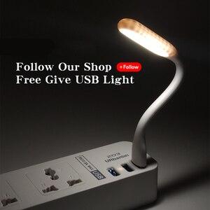 Image 5 - Regleta electrónica inteligente para el hogar con 3 USB de carga rápida, enchufe Universal, extensión de enchufe, enchufe con adaptador EU UK AU
