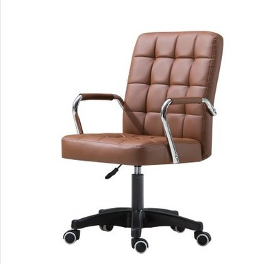 Hot Offer Df695 Office Furniture Height Adjustable Rotatable Computer Chair Armrest Leather Padded Meeting Conference Ergonomic Office Chair Cicig Co
