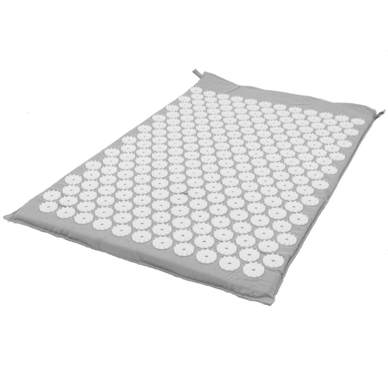 Acupressure Massage Mat with Pillow set to body Relaxation to Release Stress and Tension 10